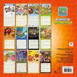Calendar 2015 back