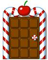 Candy Cane Door