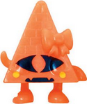 Cleo figure pumpkin orange