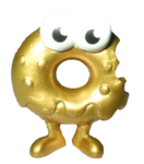 Oddie food factory figure gold