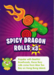 EH card Spicy Dragon Rolls series 1