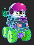 Moshi Karts moshlings neon Pocito