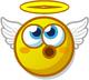 Profile mood angelic