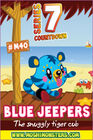 Countdown card s7 blue jeepers
