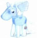 Angel figure frostbite blue