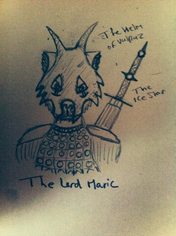 File:The Lord Maric wearing the Helm of Vulpuz..jpg