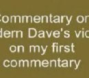 David the Ranter VS. Modern Dave Idiot