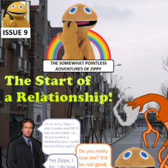 After defeating the ZIP-0 robot, Zippy asks Mulder about his earlier claims that he loves him. The two finally confess their love for each other and get into a loving relationship.