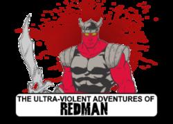 Redman comic logo