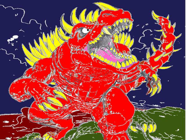 File:Queen Quirus Vs. Prehistoric Godzilla.png