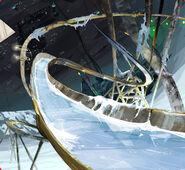 Hydroslide slide frozen