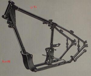 Sarolea 37 T6 Rahmen