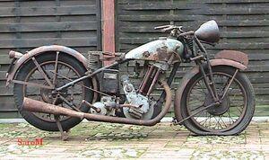 Sarolea 31R 1931 500cc rechts