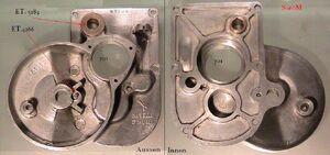 Einzelteile Getriebe Getriebedeckel.JPG