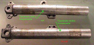 Sarolea Telegabel Einzelteile Tauchrohr links u rechts.JPG