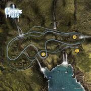 Cascadefalls track