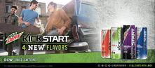 2016 Mountain Dew Kickstart Ad