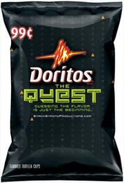 Doritos Quest bag design