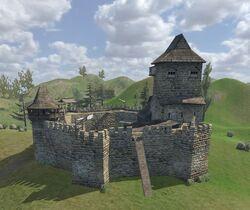 Ergellon Castle
