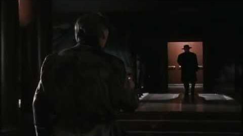 Batman 1989 The Joker kills Carl Grissom