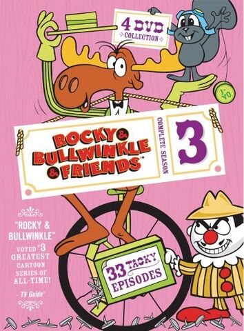 File:Rocky and Bullwinkle And Friends Season 3 DVD.jpg