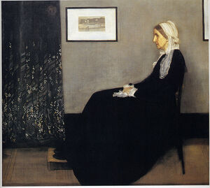 James Abbot McNeil Whistler- Arrangement in Grey and Black No. I- (Whistler's Mother)