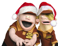 Mr. Meaty Josh and Parker Christmas