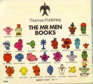 Mr Men 1970s back cover