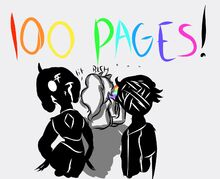 100pages!