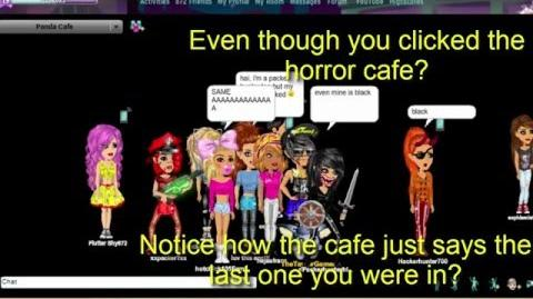 Horror cafe is a void - PROOF