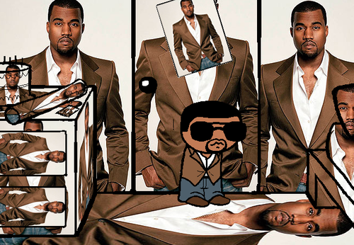 File:A young Kanye stands in his Kanye.png