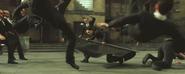 RiffTrax- Hugo Weaving with Keanu in Matrix Reloaded