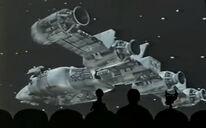 MST3k- Starship in Star Force Fugitive Alien II episode