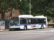 MTA New York City Bus Orion VII Next Generation hybrid 4702