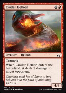 Cinder Hellion OGW