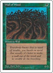 Wall of Wood 4E