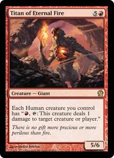 Titan of Eternal Fire THS