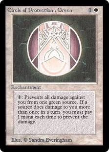 Circle of Protection Green 2E