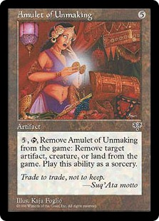 Amulet of Unmaking MIR