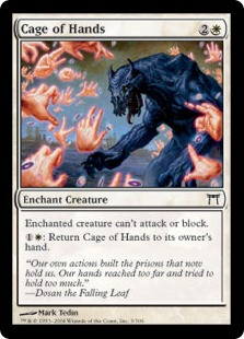 Cage of Hands CHK