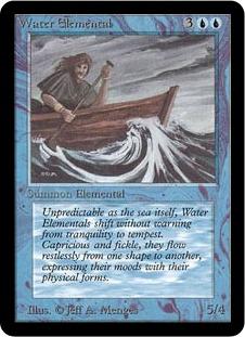 Water Elemental 1E