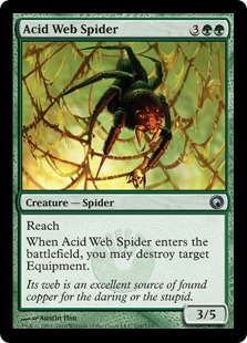 Acid Web Spider SOM