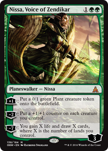 Nissa, Voice of Zendikar OGW