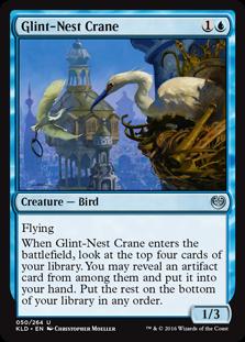Glint-Nest Crane KLD