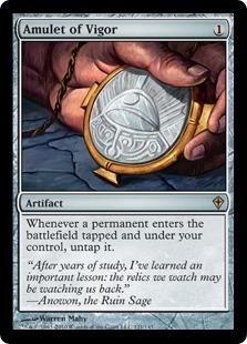 Amulet of Vigor WWK