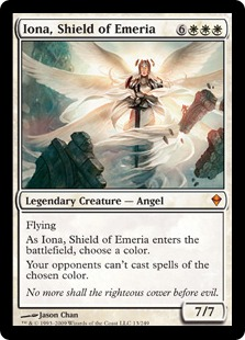 Iona, Shield of Emeria ZEN