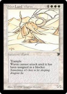 Elder Land Wurm Leg