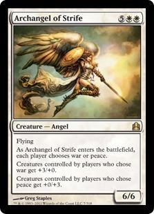 Archangel of Strife CMD