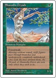 Shanodin Dryads 4E