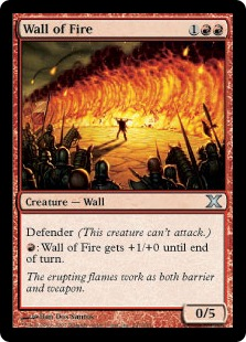 Wall of Fire 10E